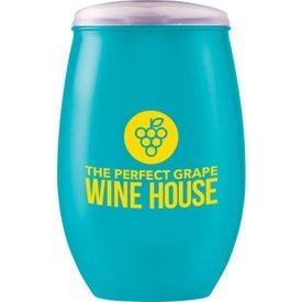 Omni Tritan Wine Cup with Lid (16 Oz.)