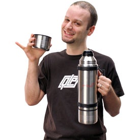 Orion Deluxe 3-in-1 Thermos for Your Company