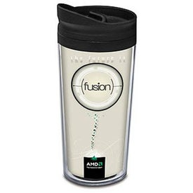 Paper Wrap Tumbler Branded with Your Logo