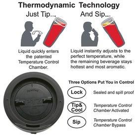 Perfect Temperature Zone Tumbler PTZª for Advertising