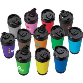 Perka Insulated Spill-Proof Mug (17 Oz.)