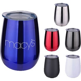 Pinot Stainless Wine Tumblers (10 Oz.)
