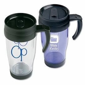 Plastic Cafe Mug with Handle