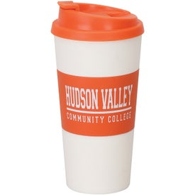 Plastic Double Wall Tumbler Printed with Your Logo