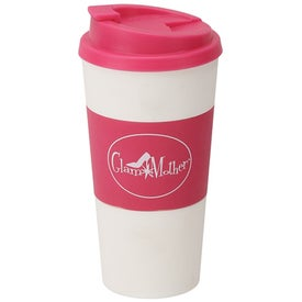 Branded Plastic Double Wall Tumbler
