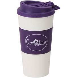 Printed Plastic Double Wall Tumbler