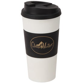 Plastic Double Wall Tumbler (16 Oz.)
