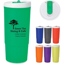 Imprinted Double Wall Plastic Tumbler