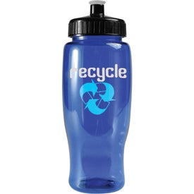 Logo Poly-Pure Travel Bottle