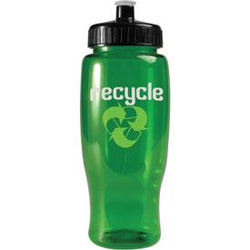 Imprinted Poly-Pure Travel Bottle