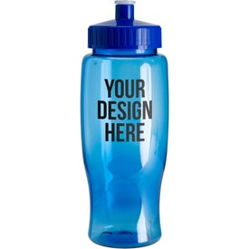 Logo Poly-Pure Travel Bottle