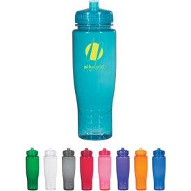 Poly-clean Plastic Bottle (28 Oz.)