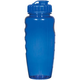 Promotional Poly-Clear Gripper Bottle