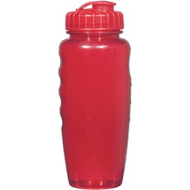 Poly-Clear Gripper Bottle Printed with Your Logo