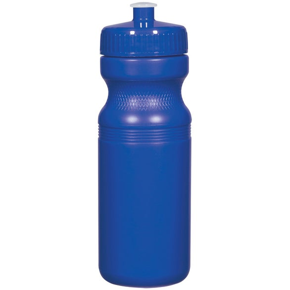Blue Poly-Clear Fitness Bottle