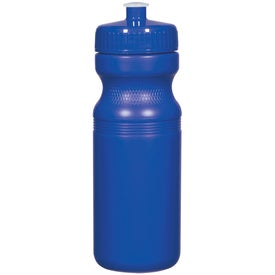 Poly-Clear Fitness Bottle (24 Oz., Red, Yellow, and Blue)