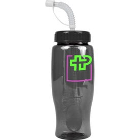 Poly-Pure Transparent Bottle with Your Logo