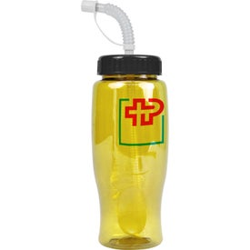 Branded Poly-Pure Transparent Bottle