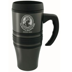 Presa II Steel Mug with Handle