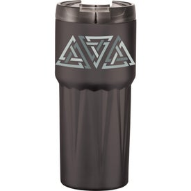 Pyramid Copper Vacuum Insulated Tumbler (20 Oz.)