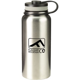 Rainier Stainless Steel Bottle (27 Oz.)