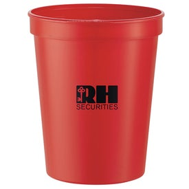Imprinted Rally Stadium Cup