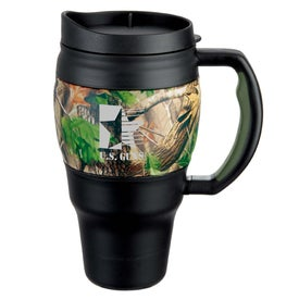 Real Tree Camouflage Bubba Keg Mug