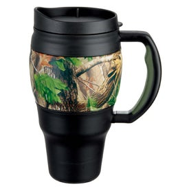 Customized Real Tree Camouflage Bubba Keg Mug