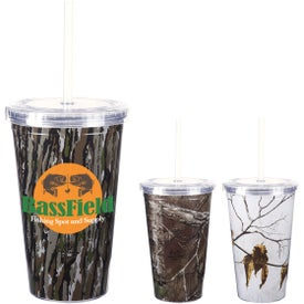Realtree Newport Acrylic Tumbler with Insert (16 Oz.)
