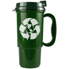 Monogrammed Recycled Auto Mug
