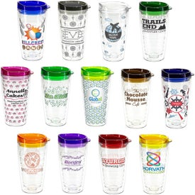 Reef Tumbler with Translucent Lid (16 Oz.)