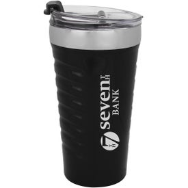 Ripple Effect Stainless Steel Tumbler (16 Oz.)