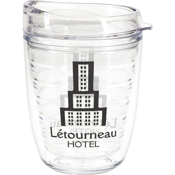 Clear Riverside Tumbler with Translucent Lid