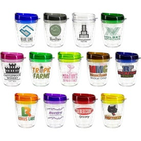 Riverside Tumblers with Translucent Lid (12 Oz.)