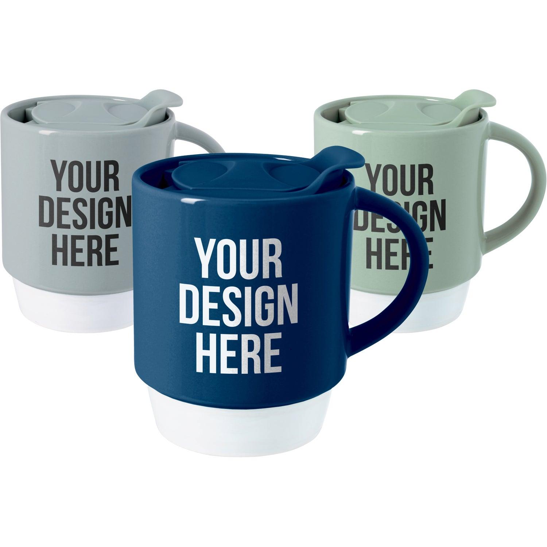 Rob Ceramic Travel Mug (11 Oz.)