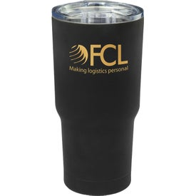 Rubberized Stainless Steel Travel Mug (17 Oz.)