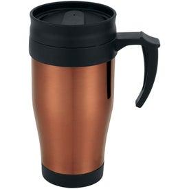 The Sanibel Travel Mug for Your Company