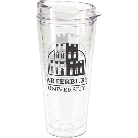 Clear Seabreeze Tumbler with Translucent Lid