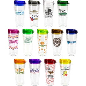 Seabreeze Tumbler with Translucent Lid (22 Oz.)