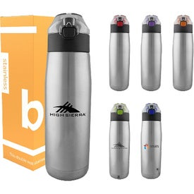 Sierra Double Wall Stainless Steel Bottles (24 Oz.)