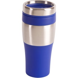 Silver Streak Tumbler with Your Slogan