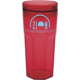 Single Wall Retro Tumbler with Your Logo
