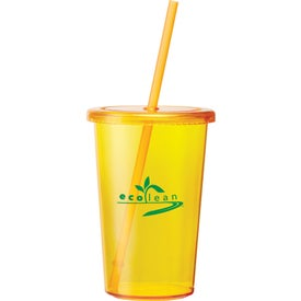 Sizzle Tumbler with Straw Giveaways