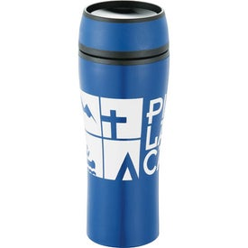 Sleek Tumbler Printed with Your Logo