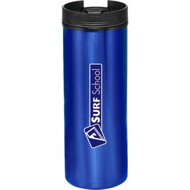 Slim Metallic Tumbler (16 Oz.)