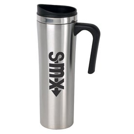 Slimline Stainless Steel Travel Mug