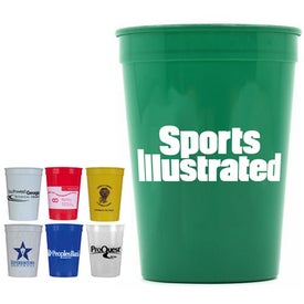 Monogrammed Smooth Stadium Cup