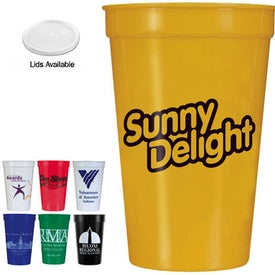 Smooth Stadium Cup Branded with Your Logo