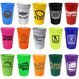 Smooth Stadium Cups (17 Oz.)