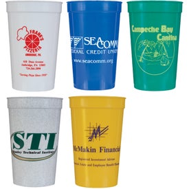 Personalized Smooth Stadium Cup